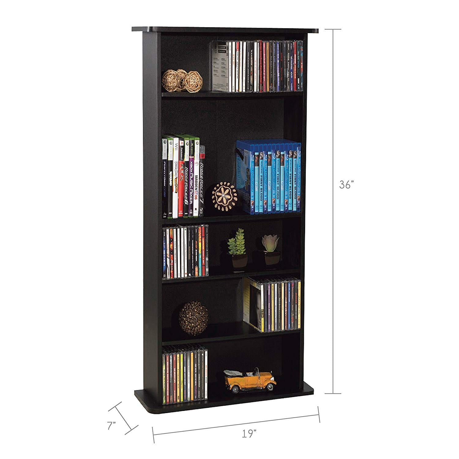 Atlantic Drawbridge Media Storage Cabinet