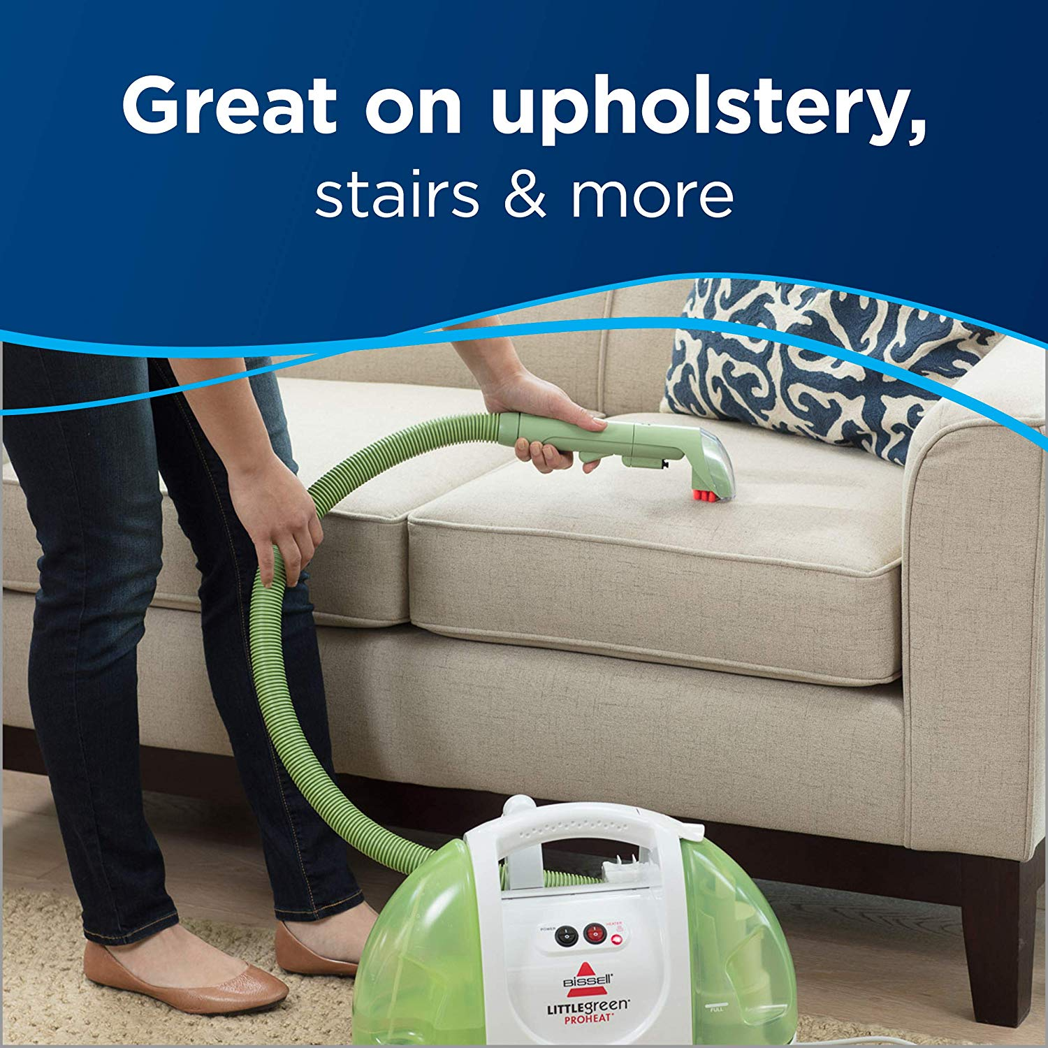 Bissell Carpet And Upholstery Cleaner 01