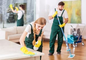 how to clean the home