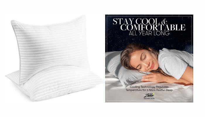 beckham hotel collection gel pillow reviews