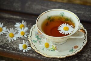 chamomile tea the best tea at bedtime for sleep