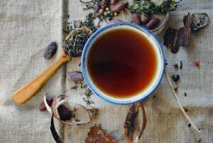 Valerian tea - the best tea at bedtime for sleep